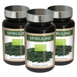 3 x Premium Spirulina