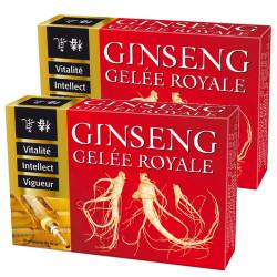 2 x Ginseng Gelée royale Ampoules