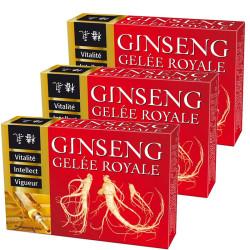 3 x Ginseng Gelée royale Ampoules