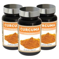 3 x Curcuma Synergy+