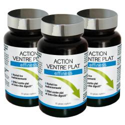 3 x Action Ventre Plat
