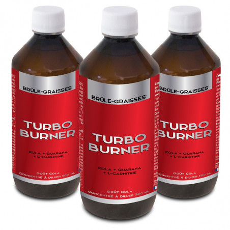 3 x TURBO BURNER