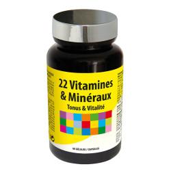 22 Vitamines & Minéraux - VIP