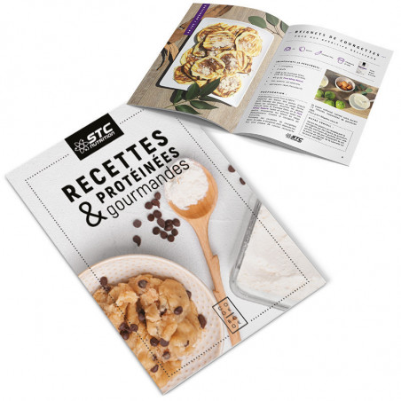 Livre recettes protéinées et gourmandes