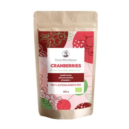 Baies de cranberry séchées Bio